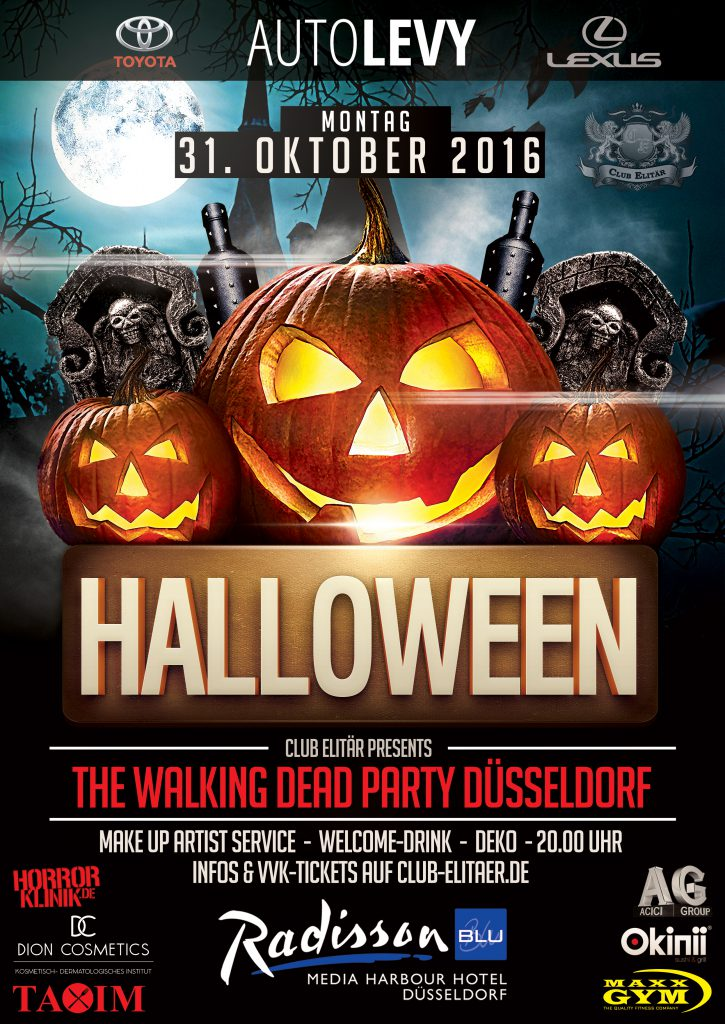 Halloween Party Düsseldorf 2016