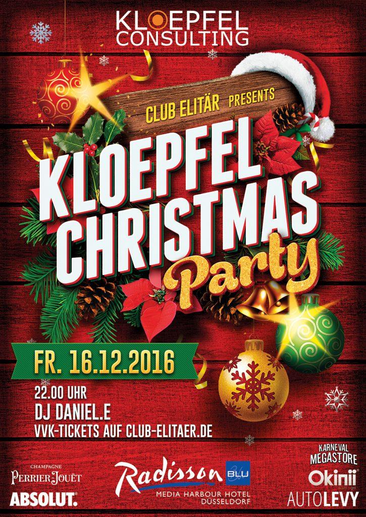 Christmas Party Düsseldorf 2016
