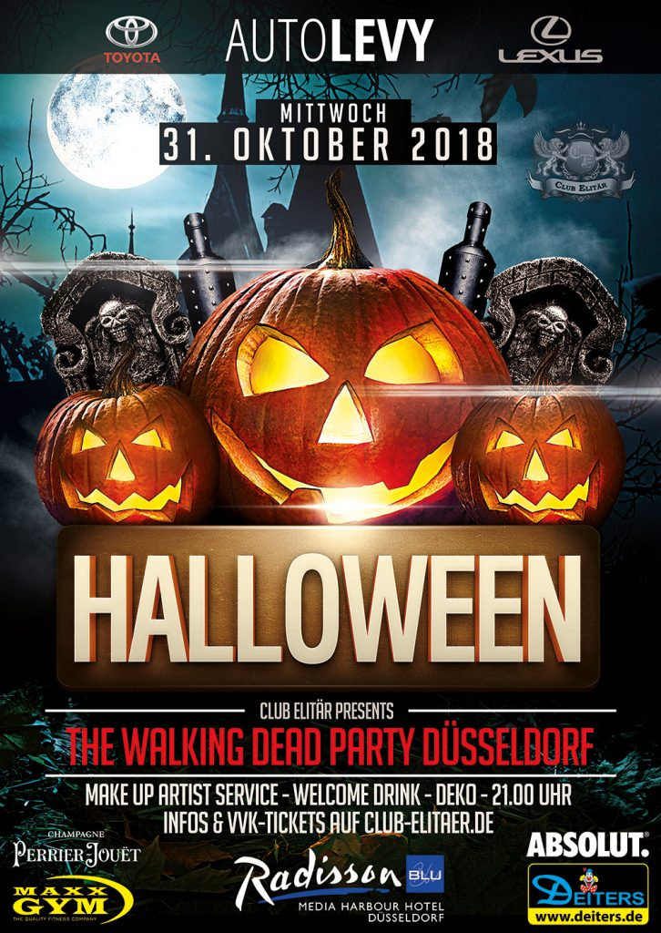 Halloween Party Düsseldorf 2018