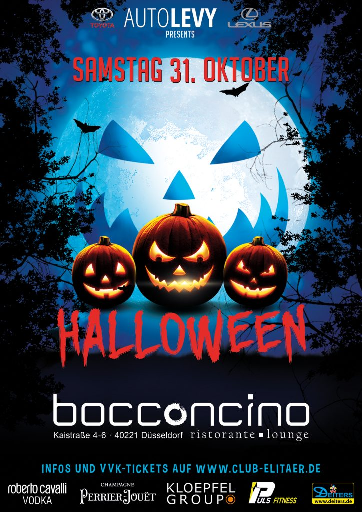 Halloween Party Düsseldorf 2020